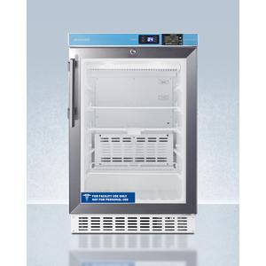 """Summit20"""" Wide Built-in Pharmacy All-refrigerator, ADA Compliant"""