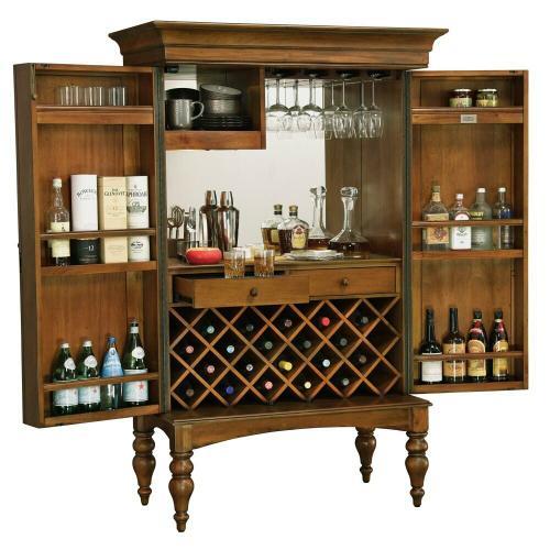 Product Image - 695-015 Toscana Wine & Bar Cabinet