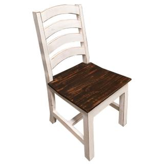 See Details - Ww/15w Wood Seat Ladder Chair