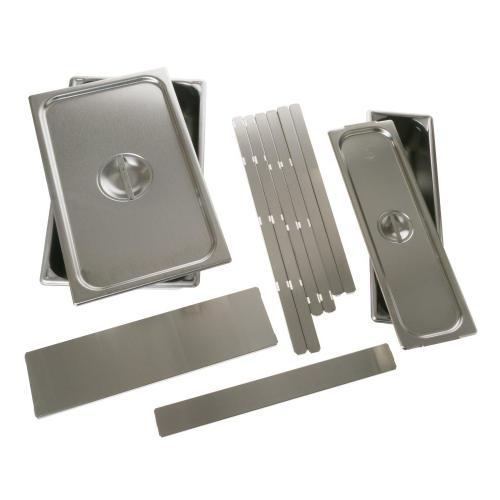 GE Appliances - Warming Drawer 2 Pan Set with Lids