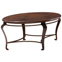 Clark Oval Cocktail Table