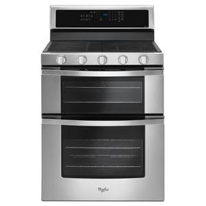 6.0 Cu. Ft. Gas Double Oven Range with EZ-2-Lift™ Hinged Grates Product Image