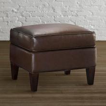 Kent Leather Ottoman