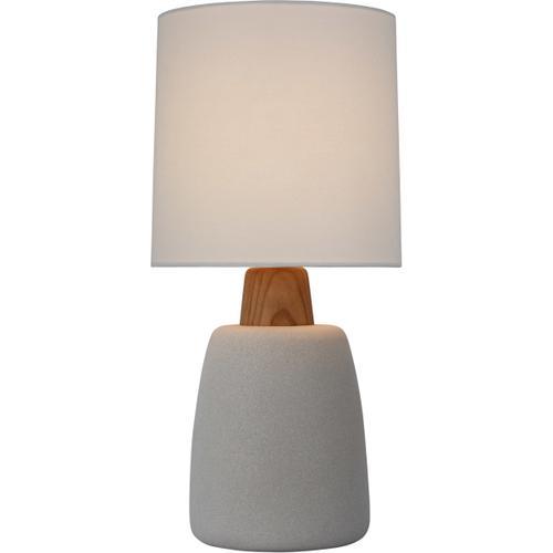 Barbara Barry Aida 21 inch 15.00 watt Porous White and Natural Oak Table Lamp Portable Light, Medium