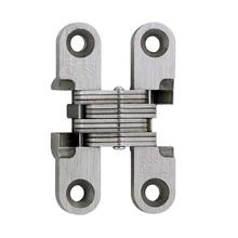View Product - Model 101SS Stainless Steel Invisible Hinge Satin Stainless Steel