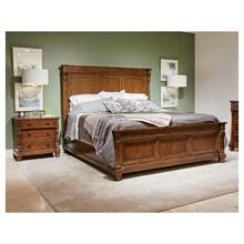 Old Town Panel Bed - California King / Barrister