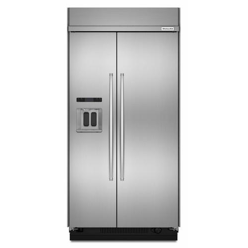 KitchenAid Canada - 29.5 cu. ft 48-Inch Width Built-In Side by Side Refrigerator with PrintShield™ Finish - Other