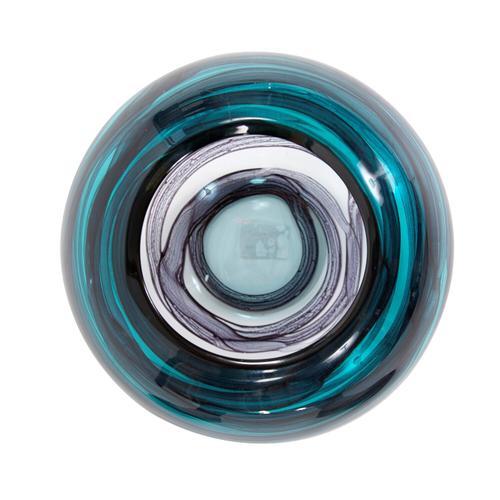 Howard Elliott - Cyclone Swirled Glass Bowl