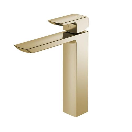 GR Single-Handle Faucet - Vessel - 1.2 GPM - Polished French Gold MTO