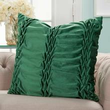 "Life Styles L0066 Emerald 22"" X 22"" Throw Pillow"