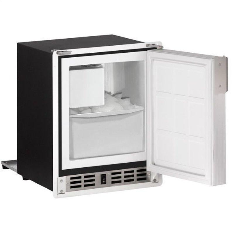"Sp18fc 14"" Crescent Ice Maker With White Solid Finish (115 V/60 Hz Volts /60 Hz Hz)"