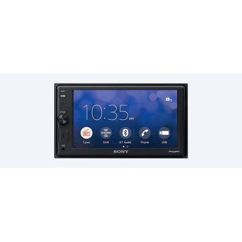 "6.2"" (15.7-cm) media receiver with Bluetooth®"