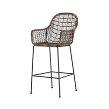 Bar Stool Configuration Distressed Grey Finish Bandera Bar Stool + Counter Stool