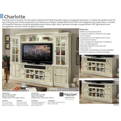 CHARLOTTE Left and Right Pier Cabinet Pair