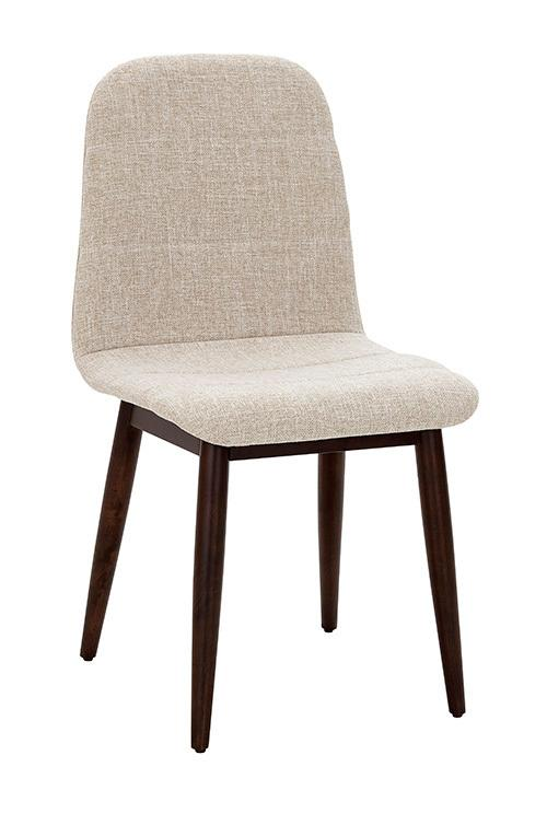 Dining Chair- 2/CTN - Espresso/Glass Finish