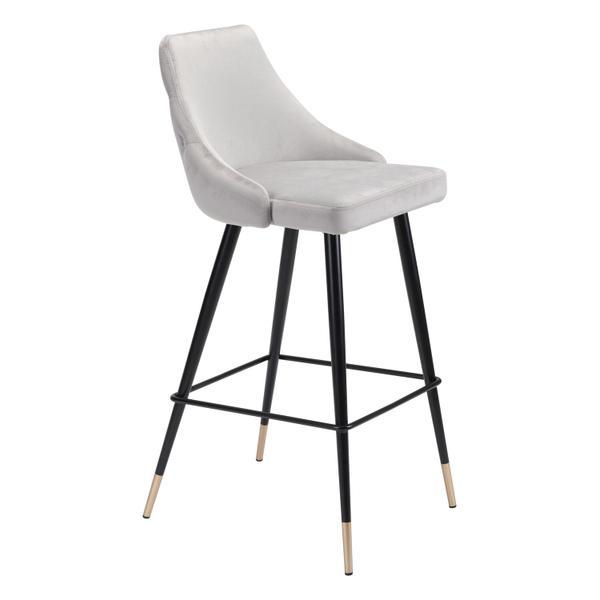 See Details - Piccolo Bar Chair Gray