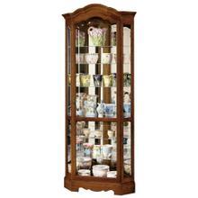 See Details - Howard Miller Jamestown II Curio Cabinet 680250