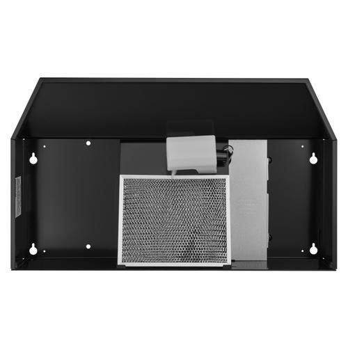 Broan® 30-Inch Under-Cabinet Range Hood w/ Easy Install System, 190 CFM, Black