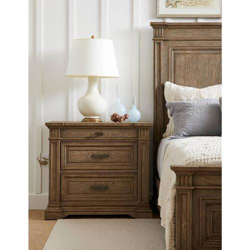 Stanley Furniture - Portico Large Nightstand - Drift
