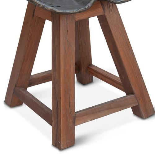 Old Mill Tractor Seat Dining Chair