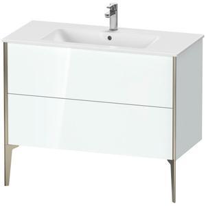 Duravit - Vanity Unit Floorstanding, White High Gloss (lacquer)