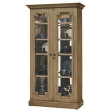 See Details - Howard Miller Chasman II Curio Cabinet 670011