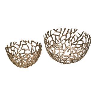 Nest Bowls Silver Set Of 2