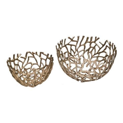 Nest Bowls Silver Set Of 2