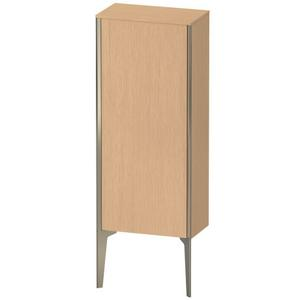 Semi-tall Cabinet Floorstanding, Brushed Oak (real Wood Veneer)