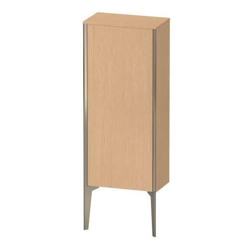 Semi-tall Cabinet Floorstanding, Brushed Oak (real Wood Veneer)