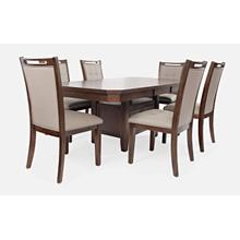 Manchester Rect. High/low Ext Table W/(4) Chairs