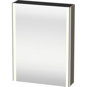 Mirror Cabinet, Flannel Gray Satin Matte (lacquer)