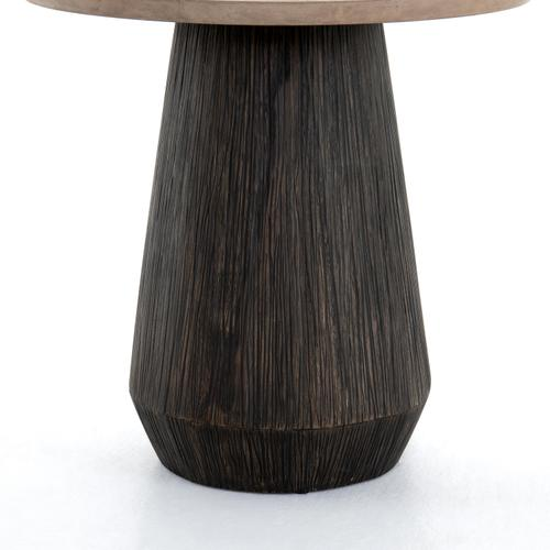 Darwin End Table-taupe Concrete