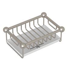 Free Standing Soap Basket - Satin Nickel