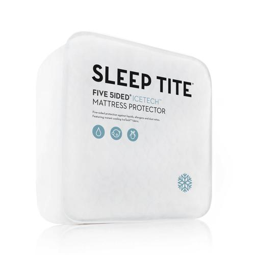 Five 5ided IceTech Mattress Protector Split Head Queen