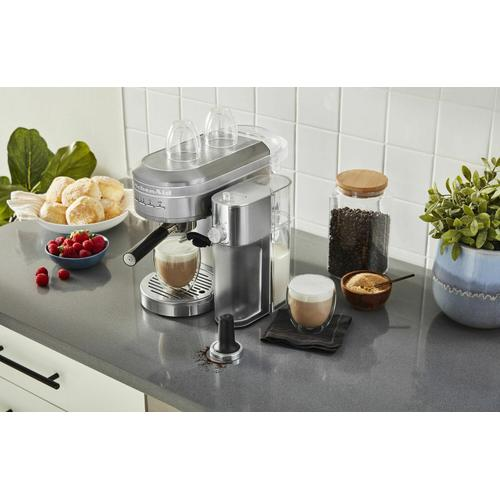 Gallery - Metal Automatic Milk Frother Attachment - Brushed Stainless Steel