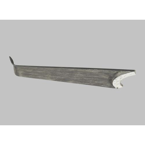 """60"""" Orville - Brushed Steel Lt Grey Wthrd Oak"""