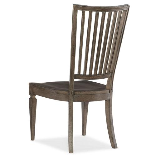 Dining Room Woodlands Wood Back Side Chair - 2 per carton/price ea