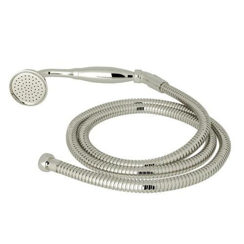 Inclined Handshower and Hose - Polished Nickel