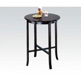 "Espresso 30""d Bar Table @note"