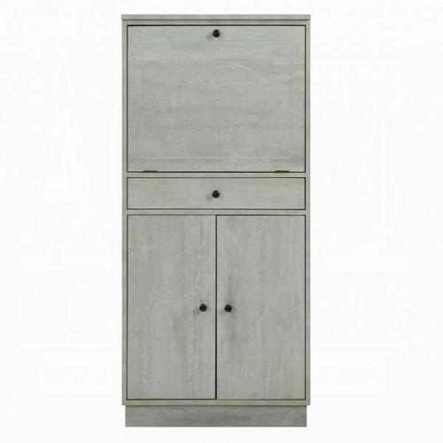 ACME Wiesta Wine Cabinet - 97545 - Antique White
