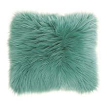 "View Product - Fur Fl101 Celadon 22"" X 22"" Throw Pillow"