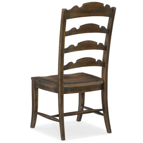 Hooker Furniture - Hill Country Twin Sisters Ladderback Side Chair - 2 per carton/price ea