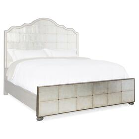 Bedroom Arabella 6/0-6/6 Mirrored Panel Footboard