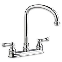 Hampton 2-Handle 1.5 GPM High-Arc Bar Sink Faucet - Polished Chrome