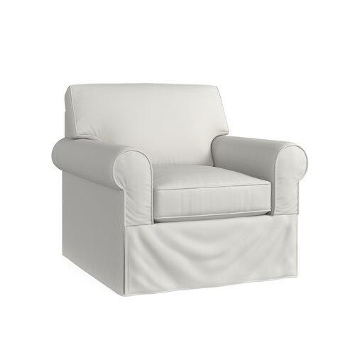 Raleigh Slipcover Swivel Chair