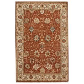 Ashia Rust Ivory Hand Knotted Rugs