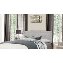 Nicole Headboard - King - Glacier Gray