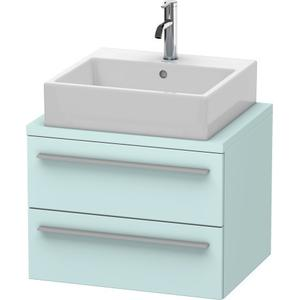 Vanity Unit For Console Compact, Light Blue Matte (decor)