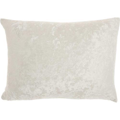 "Luminescence L4006 Ivory 12"" X 18"" Throw Pillow"